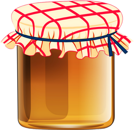 Pot De Confiture Png Vector, Clipart, PSD.