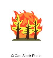 Forest conflagration Illustrations and Clip Art. 41 Forest.