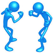 Conflict Clipart.