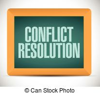 Conflict resolution Stock Illustration Images. 351 Conflict.