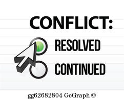 Conflict Resolution Clip Art.