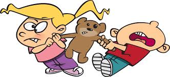 Conflict resolution clipart kids.