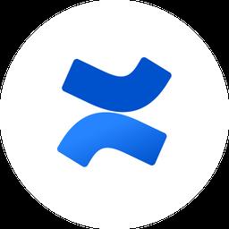 Confluence Logo Icon of Flat style.