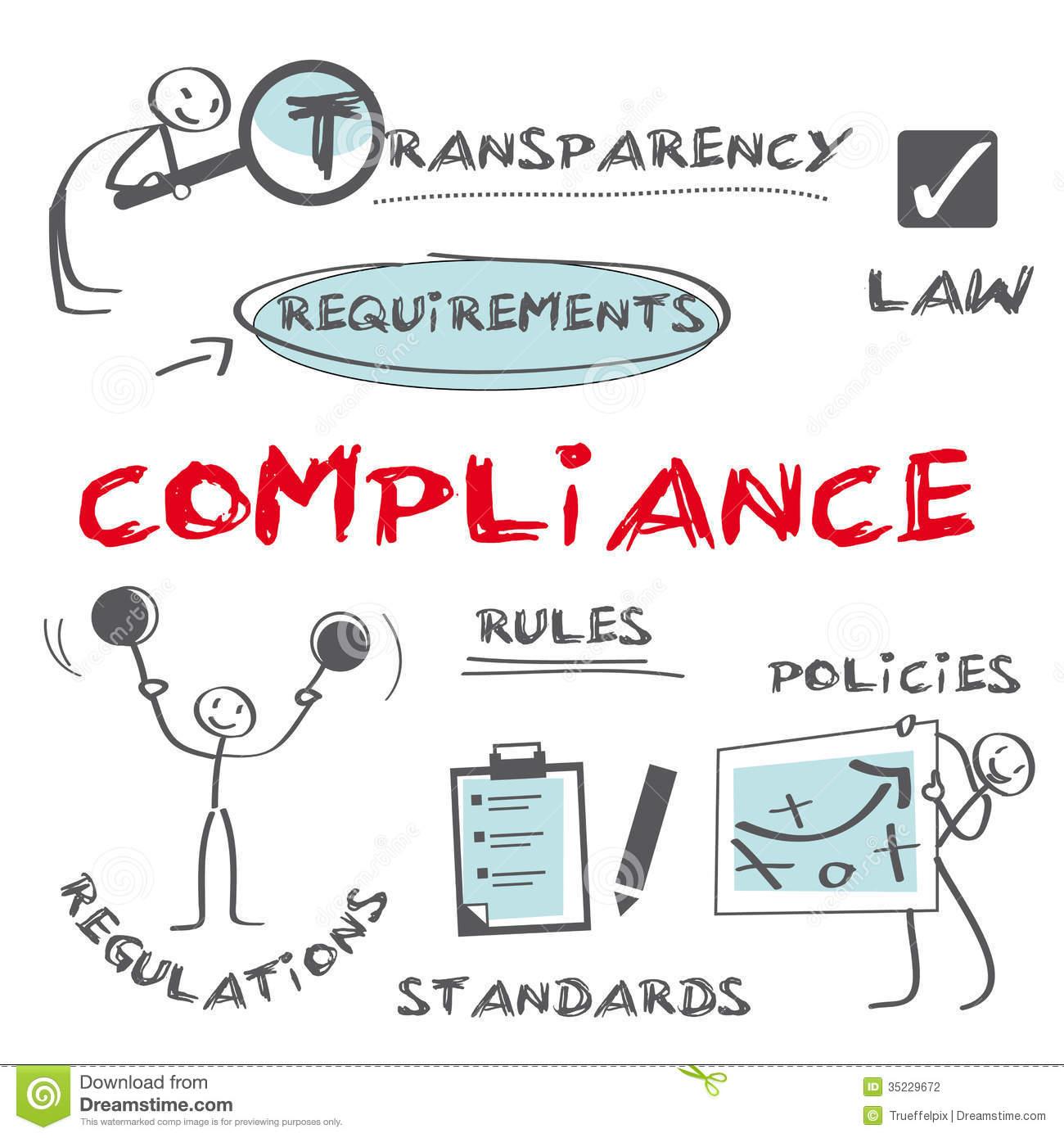 Compliance Stock Illustrations.