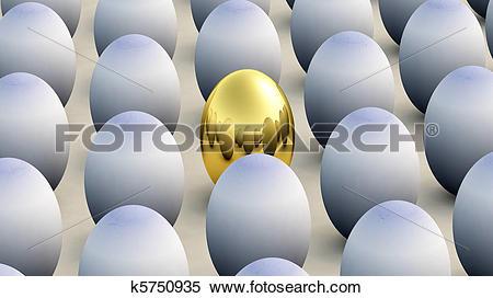 Stock Illustration of Non Conforming Easter Egg k5750935.