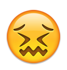 Ios Emoji Confounded Face.