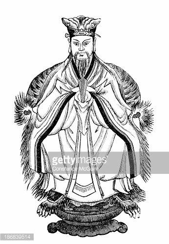 Confucius premium clipart.