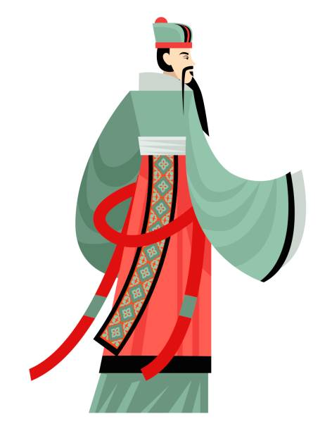 Best Confucius Illustrations, Royalty.