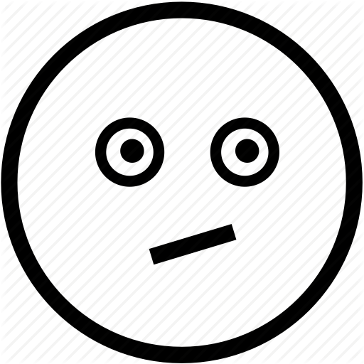 Confused emoticon emoticons face head person smiley icon clipart.