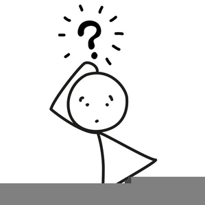 Confused Computer Clipart.