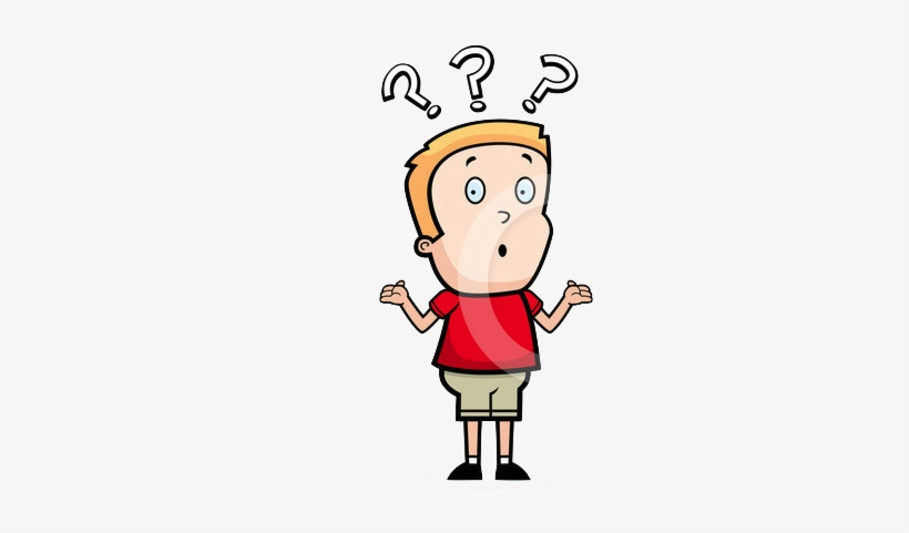 Royalty Free Confused Clipart Illustration 215196.