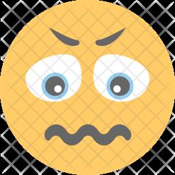 Confused Emoji Icon.