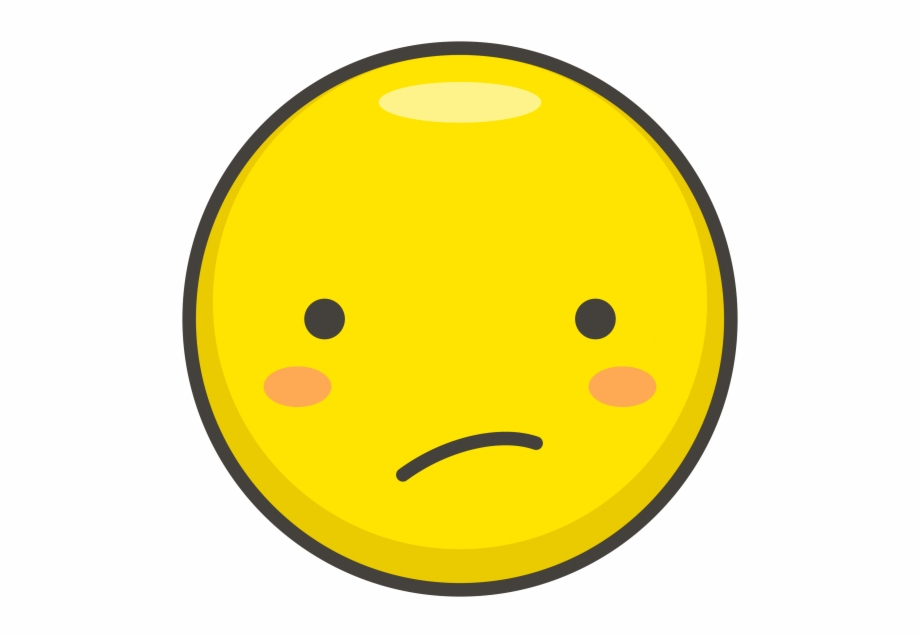 Confused Face Emoji Transparent Emoji Png Emoji Clipart.