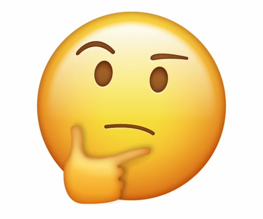 Thinking Emoji Png.