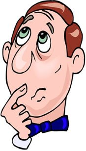 Confused face clip art.