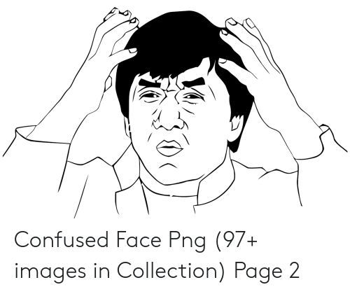Confused Face Png 97+ Images in Collection Page 2.