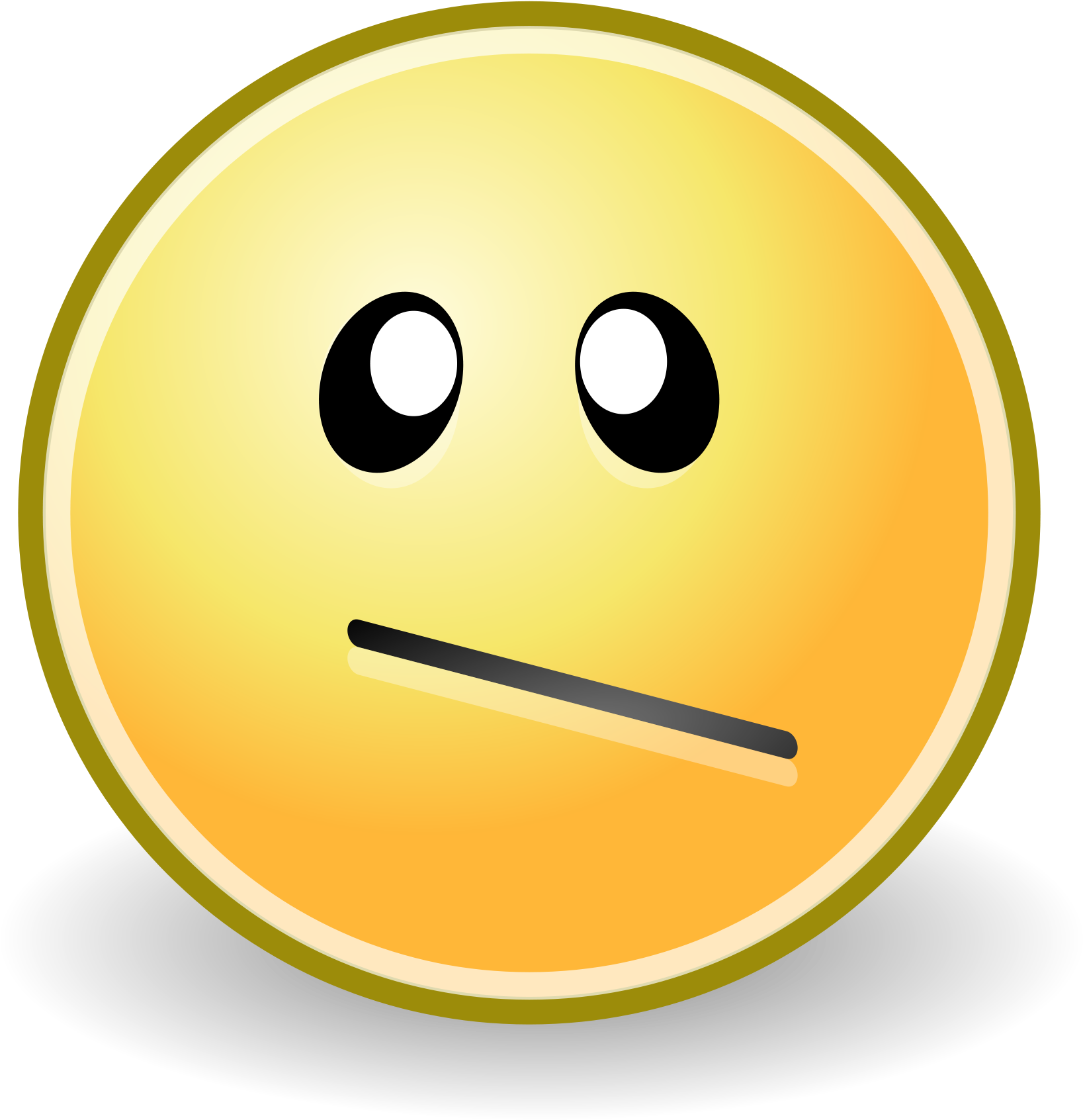Confused Emoticon File Face Confused Svg Wikimediamons.