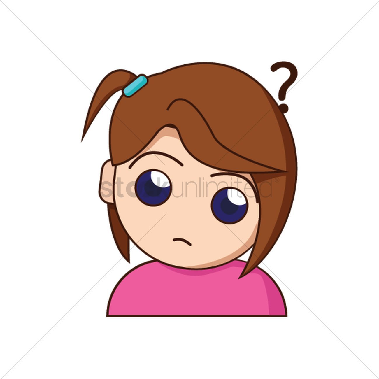 Confused girl clipart 6 » Clipart Portal.