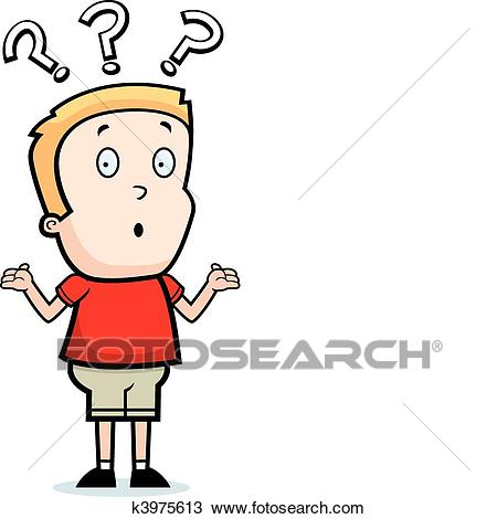 Confused kid clipart 2 » Clipart Station.