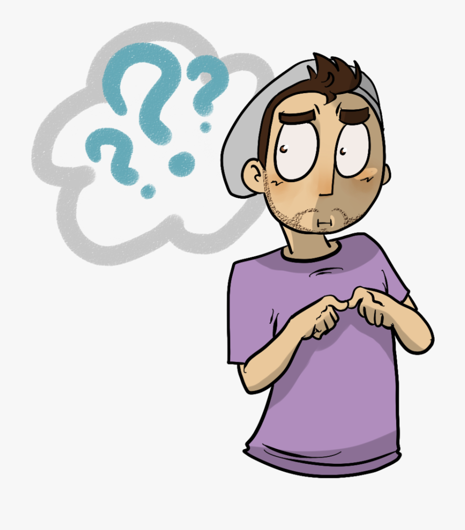 Confused Cartoon Face Png , Transparent Cartoon, Free.