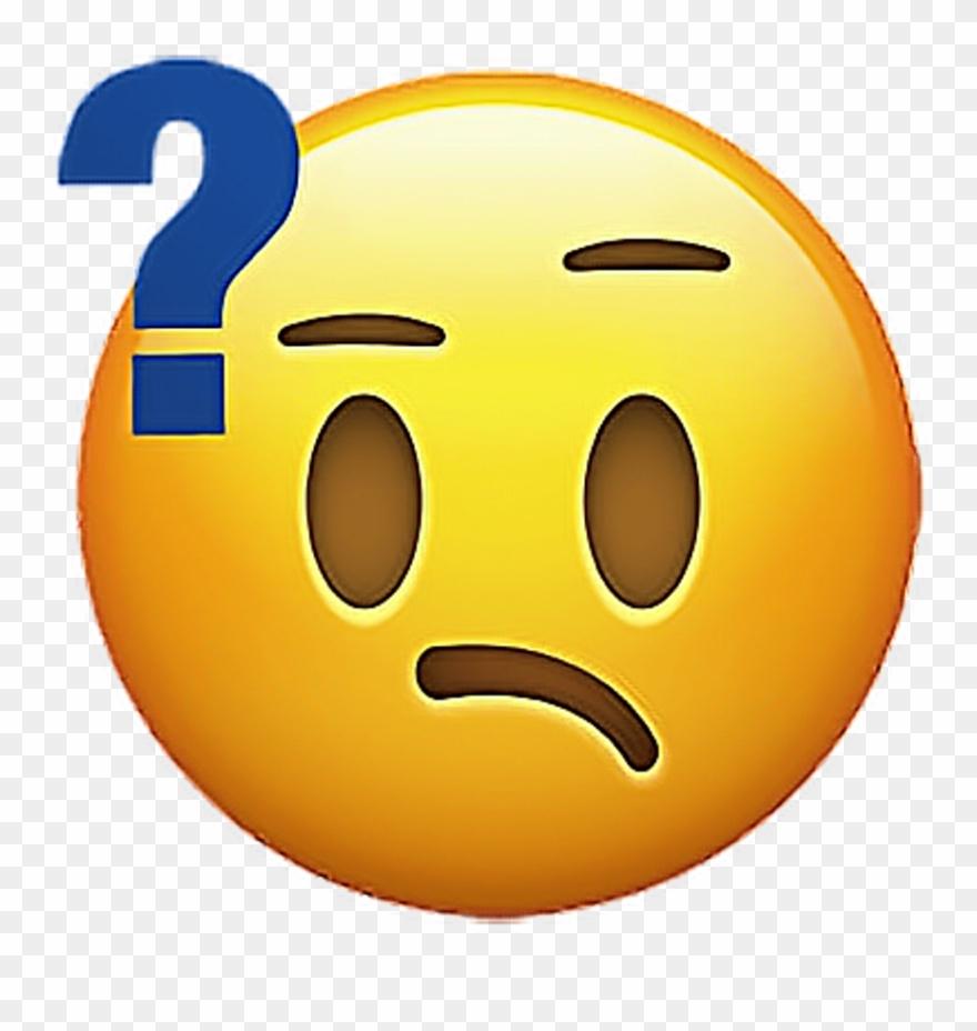 Emoji Emojisticker Sticker Stickers Confused Smiley.