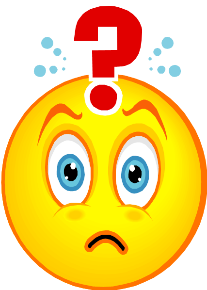 Confusion clipart free.