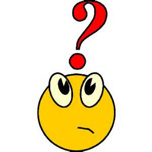 Confused people clipart.