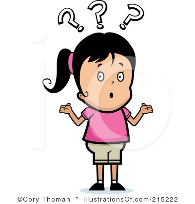 Confused Black People Clipart.