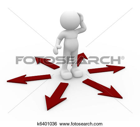 Clip Art of Question mark. Confusion k15101672.