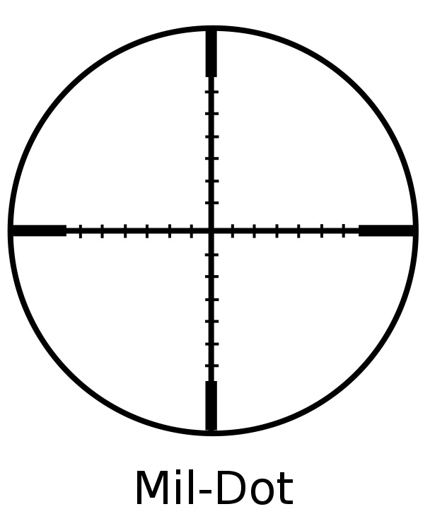 Rifle Scope Clipart.