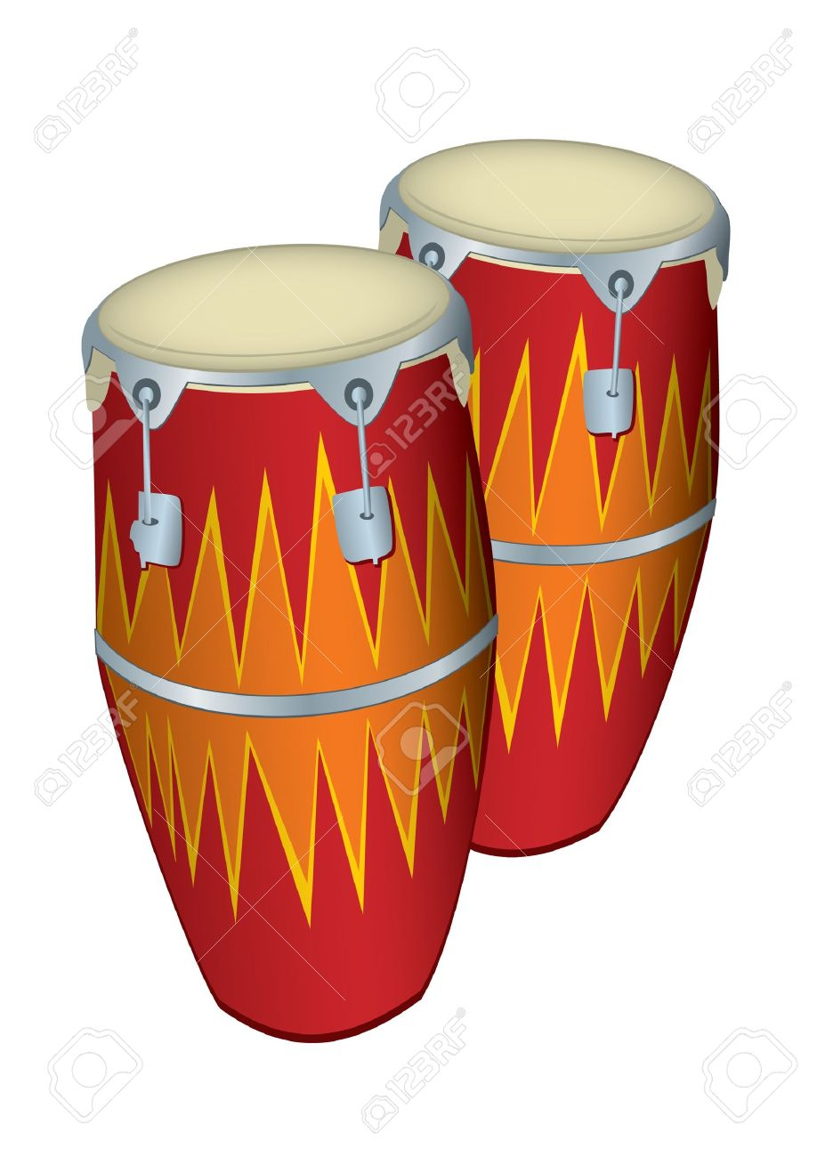 Conga drums clipart 1 » Clipart Station.