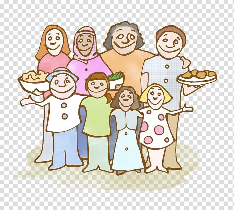 Family Muslim The Star People: A Lakota Story Social group.