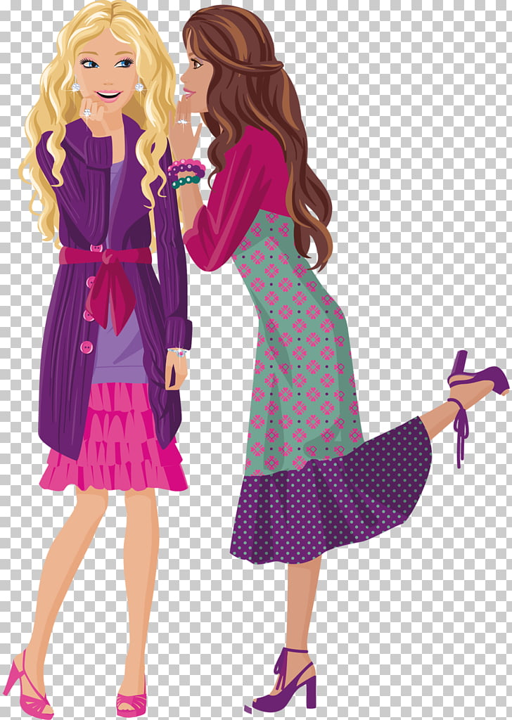 Barbie Doll Midge , make friends with congenial persons PNG.