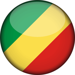 The Republic of the Congo flag clipart.