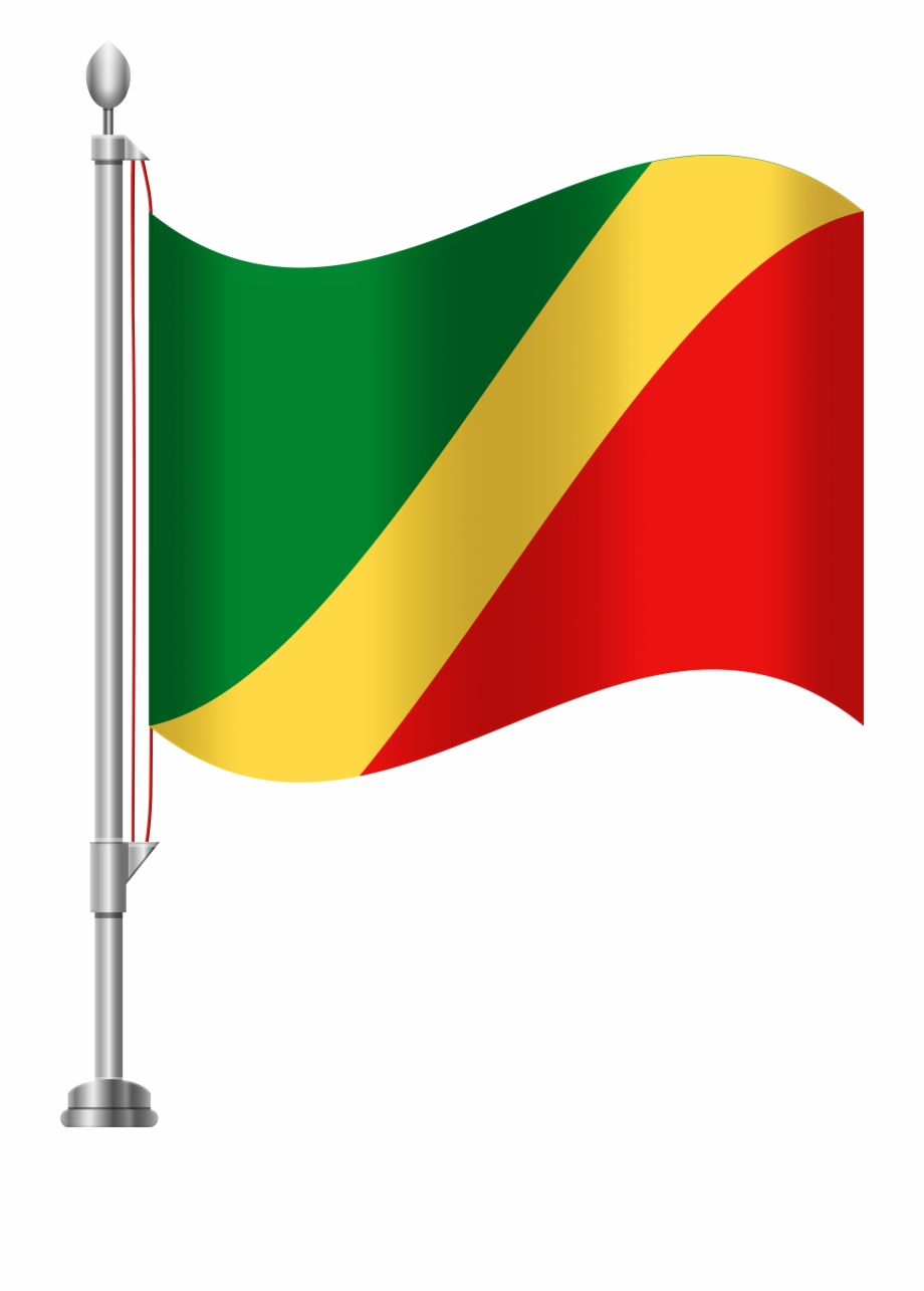 Republic Of The Congo Flag Png Clip Art Free PNG Images & Clipart.