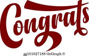 Congrats Clip Art.