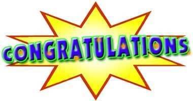 Congrats clipart #17