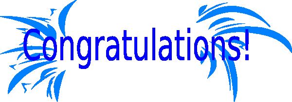 Congrats clipart #8