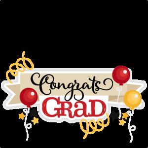 Congrats Grad Title SVG.