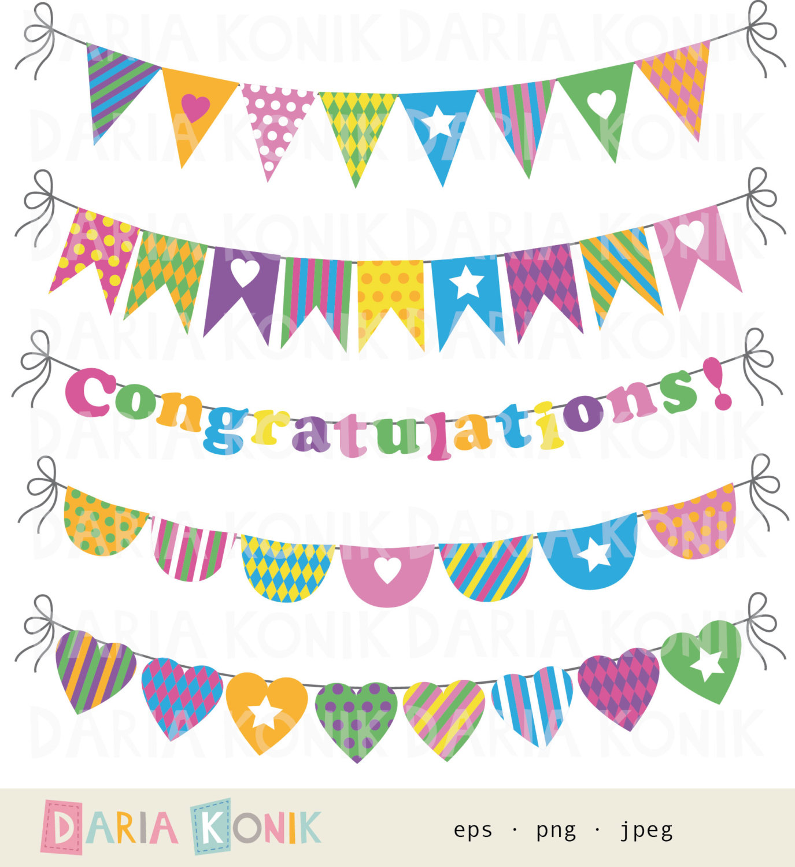 Clip art congratulations banner.