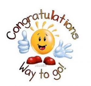 Congratulation clip art.