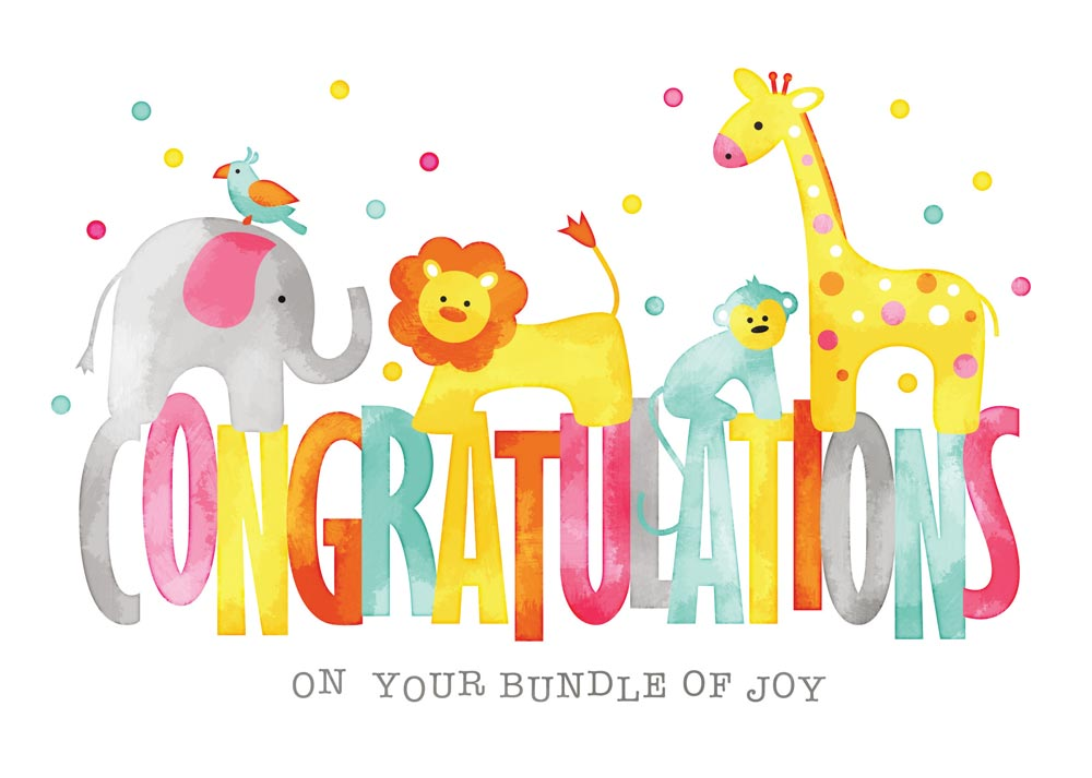 Congratulations new baby clipart 6 » Clipart Station.