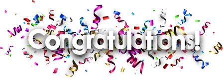 36,984 Congratulations Banner Stock Illustrations, Cliparts And.