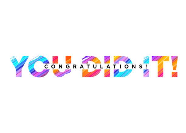 Top 60 Congratulations Banner Clip Art, Vector Graphics and.