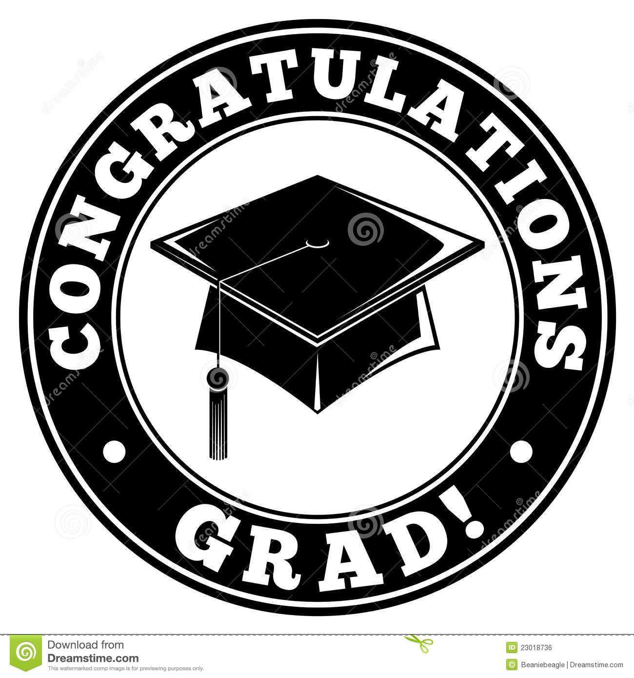 5795 Graduation free clipart.