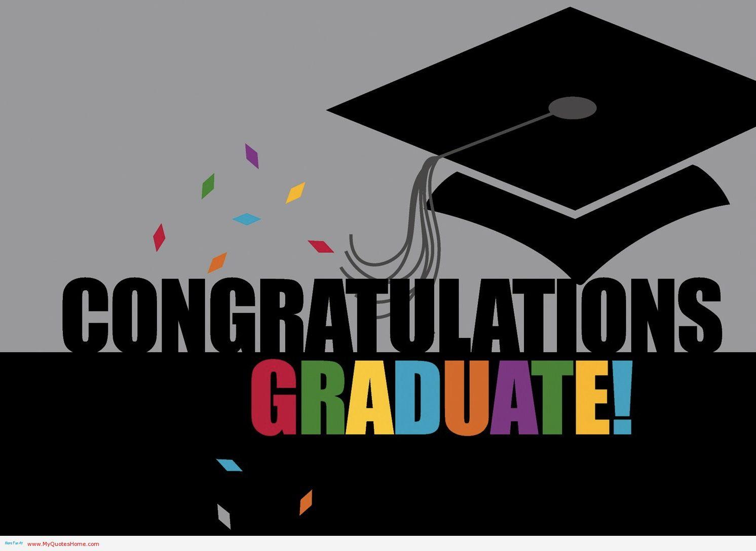 congratulations on college graduation.