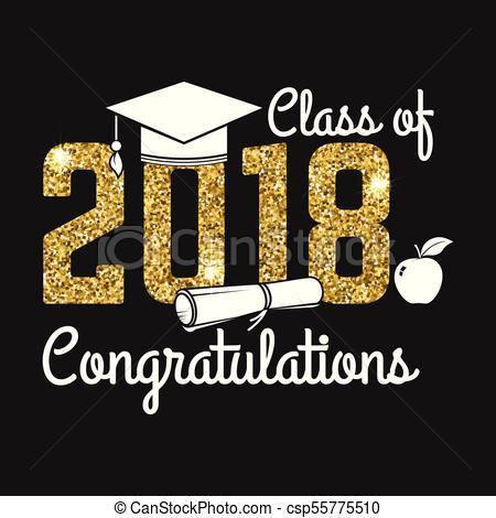 Congratulations class of 2018 clipart 5 » Clipart Station.