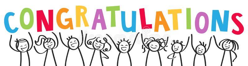 Congratulations Stock Illustrations.