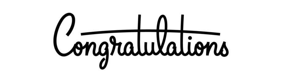 Free Congratulations Clipart Black And White, Download Free Clip Art.
