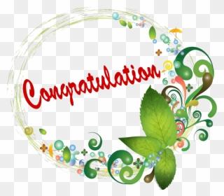 Free PNG Congratulations Clip Art Download.
